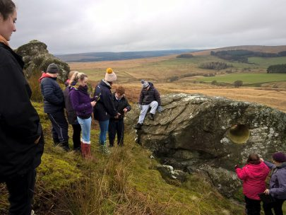 Priory School group visit to Highgreen 2